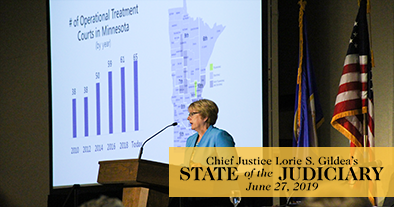 Chief Justice delivers State of the Judiciary address
